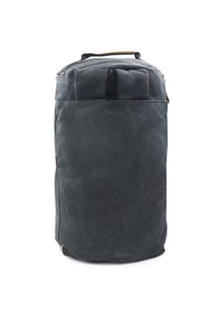 Timmy 2-in1 Black Canvas Duffel/Backpack