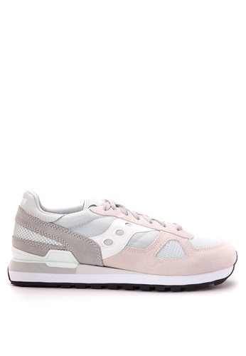 Saucony grey and white Shadow Original Sneakers SA012SH60PNZPH_1