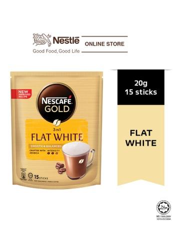 NESTLE Nescafe Gold Flat White 15 Sticks 20g 9DC9AESE8AFD11GS_1