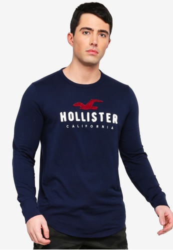 0417d77dfd7b Buy Hollister Long Sleeve T-Shirt Online on ZALORA Singapore