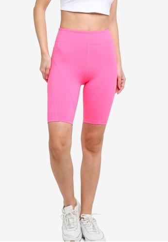 Free People pink Biker Baby Shorts ECC14AA8A2AFE0GS_1