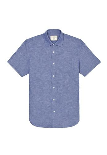 Kent and Curwen blue Blue Casual Shirt EB69CAA6A24D5CGS_1