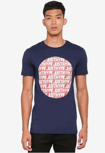 6eb5842bc45c Buy Just Hype JH Sporting T-Shirt Online on ZALORA Singapore