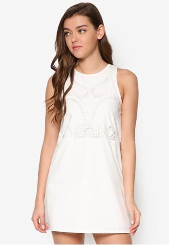 繡花直筒式洋esprit 尖沙咀裝, 服飾, 洋裝