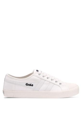 Gola white Coaster Sneakers DF9B0SHC604538GS_1
