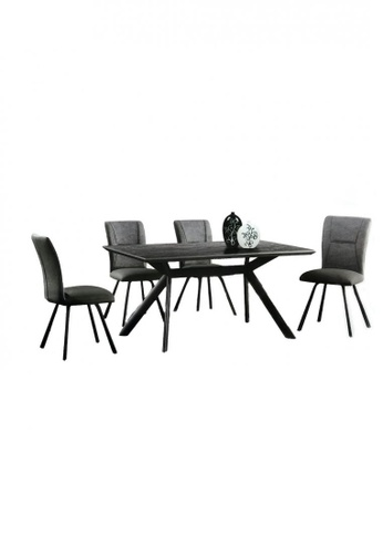 Choice Furniture black Choice Furniture - Dita Dining Set 35E07HL34D6EFBGS_1