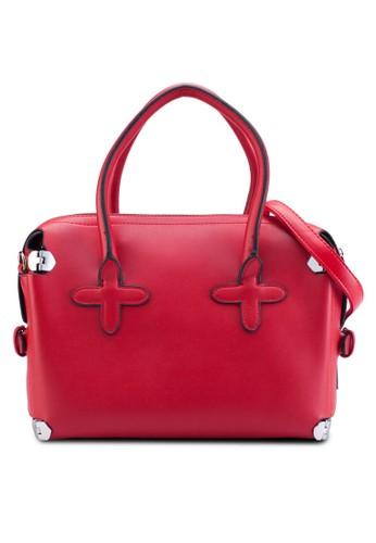 經典仿皮手提包,esprit專櫃 包, 知性女強人