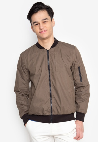 Courier brown Bomber Jacket CO826AA62MKRPH_1