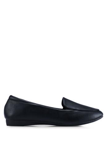 Louis Cuppers 黑色 質感樂福鞋 D5FDASH99BCB6FGS_1