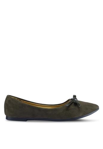 Noveni 褐色 休閒平底鞋 21F7DSHE3CE2E4GS_1
