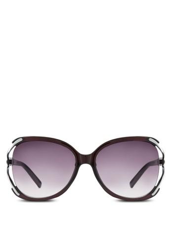 NUVEAU 金屬邊大方框太陽眼鏡, 飾品配件, 飾品esprit 京站配件