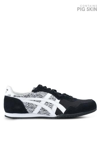 Onitsuka Tiger black Serrano Shoes ON067SH0SVWIMY_1