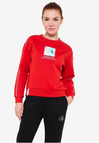 361° red Cross Training Sweater 51F87AA33B4B90GS_1