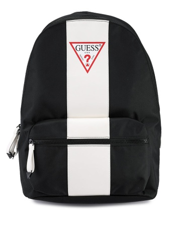 Guess black and white Central Backpack 4EFAEAC5131276GS_1