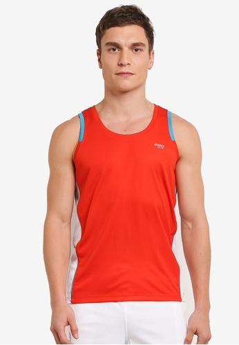 2GO orange Sleeveless T-Shirt 2G729AA0S60DMY_1
