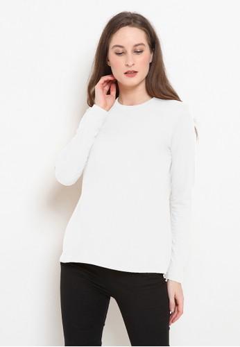 BASIC ONE white Basic One Jeddah Top Nabila White 07B78AACD1B06EGS_1