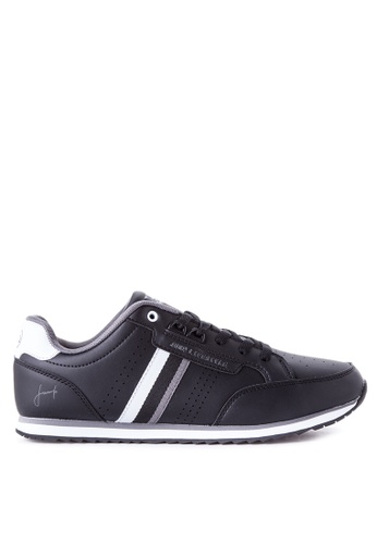 Jump black and grey JM-16-2317 Sneakers JU701SH90VOFPH_1