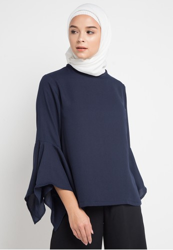 HAZELNUT navy Arabella Top E9976AAD270633GS_1