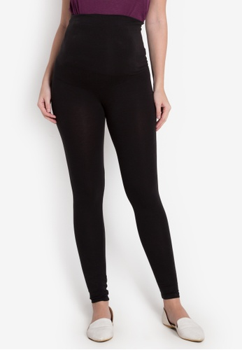 Nine Months black Nico Maternity Leggings NI270AA0K2KTPH_1