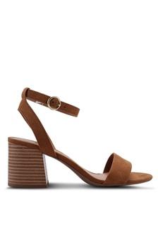 1bd3a7da4e5 Dorothy Perkins Yellow Shugar Heeled Sandals RM 159.00. Tan Shady Block  Heels 3A445SHAC38AA6GS 1
