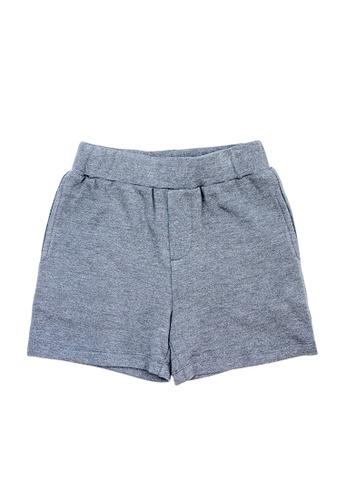 Vauva grey Vauva Kooala Boys Basic Grey Shorts 51F33KABD4FA06GS_1