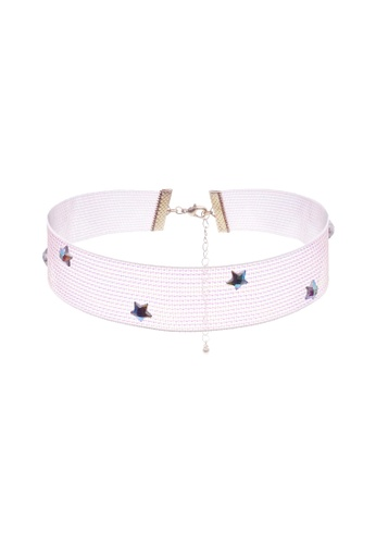 LUCCACAL Iridescent Star Choker LU294AC62RJPMY_1