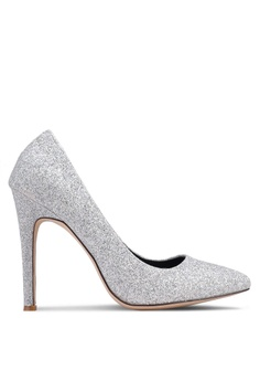 84892accc490 Nose silver Glitter Pointy Toe Heel Pumps 16925SH6C6A062GS 1