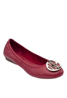 c4cfe3d09b12c 10% OFF Hush Puppies Hush Puppies Women s Samantha II Ballerina - Red RM  299.00 NOW RM 269.10 Sizes 5 6 8 9