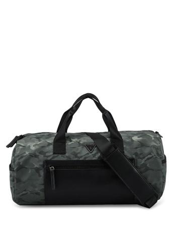 Guess green Dyson Round Duffle Bag E533AACF4C048BGS_1