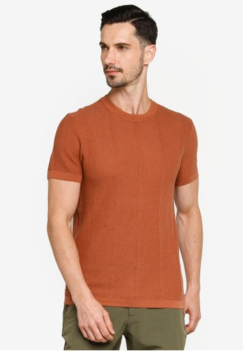 Abercrombie & Fitch red Sweater Tee FF370AA0479DDEGS_1