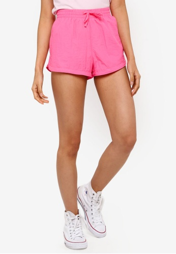 Factorie pink Generic Shell Shorts E682BAAE45276BGS_1