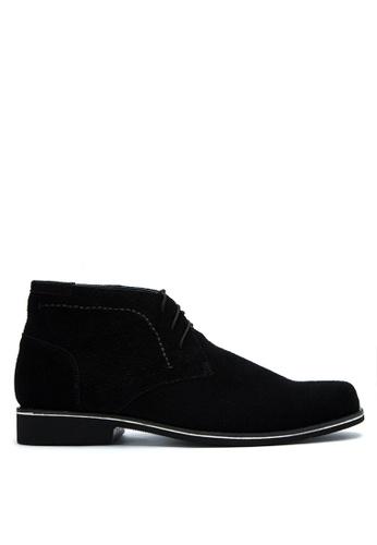 Brogue & Derby black Draven Boots BR611SH0KFK8PH_1