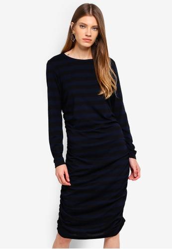 JACQUELINE DE YONG black Rosa L/S Dress 87E64AA7CBFD22GS_1