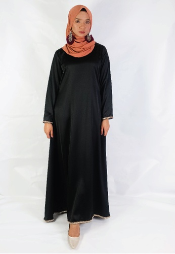 Zaryluq black Albania Dress AA08BAA8EA862AGS_1