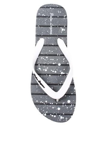Palm Lagoon black Sandal & Flip Flop Stripe Paint Black A66AESH20F03ADGS_1