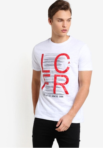 Fidelio white FRLC Printed Embroidery Tee FI826AA26NSVMY_1