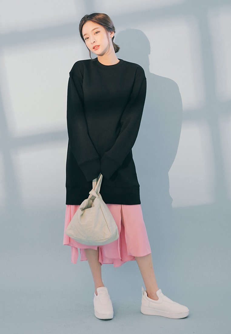 Korean Fashion Sweater Dress