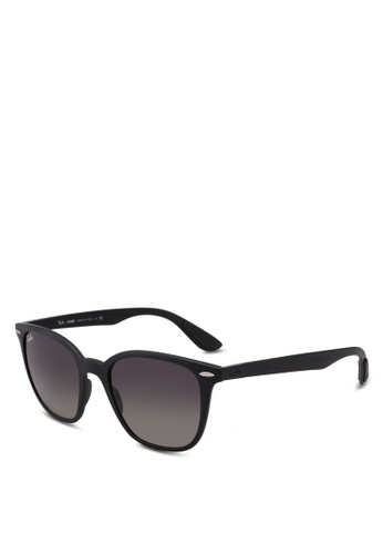 Ray-Ban black RB4297 Sunglasses 9914FGLDE3988BGS_1