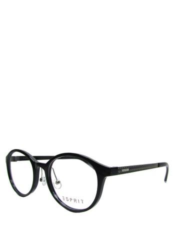 ESPRIT black Esprit Frame Kacamata Model Round 14235 - 52 - Hitam Silver  ES347GL07WTWID 1 13ab28a9c0