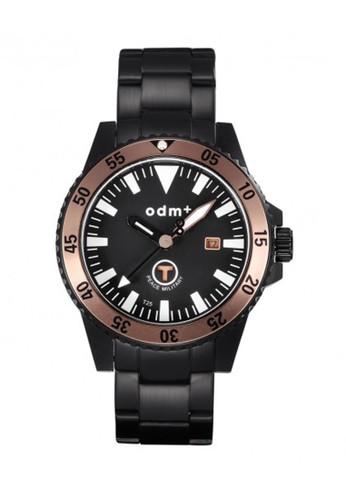 Odm - Jam Tangan Analog Pria - DM006-05 -Black Brown