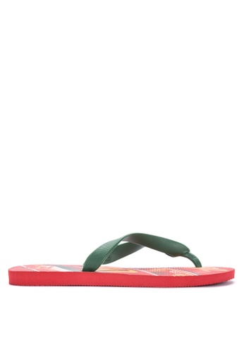 Dupe red Selecoes Portugal Sandals & Flip Flops 62399SHA3D7089GS_1