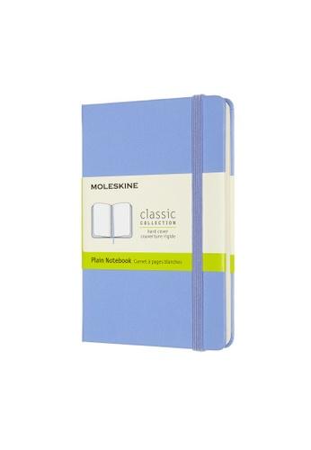 Moleskine blue Classic Notebooks Plain Hard Blue Pocket E3221HL71B59BDGS_1