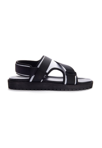 Yoke & Theam white Gray Sandal B2BD3SHF1B10B5GS_1