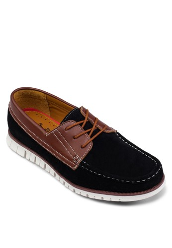 配色船型鞋, 鞋, 男esprit高雄門市鞋