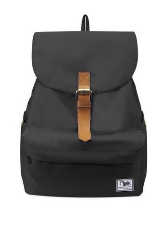 Ripples black Tanya Classic Ladies Backpack RI425AC0G8BOSG_1