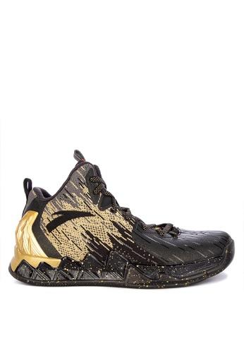 Anta black KT2 Finals Chase Away Basketball Shoes 85479SH9073C82GS_1