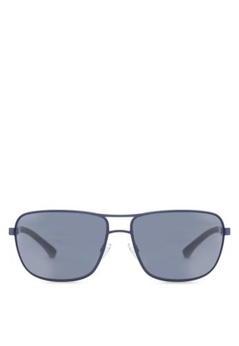 時尚金屬框太陽眼鏡, 飾品配件, zalora 包包 ptt飾品配件