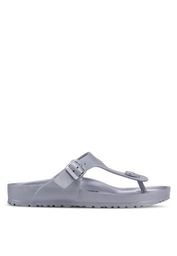 Birkenstock silver Gizeh EVA Sandals CD2A0SH8E7757BGS_1