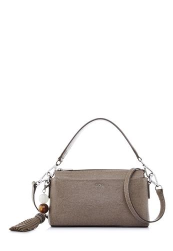 BONIA brown Taupe Betsy Crossbody Bag 89440AC9588435GS_1