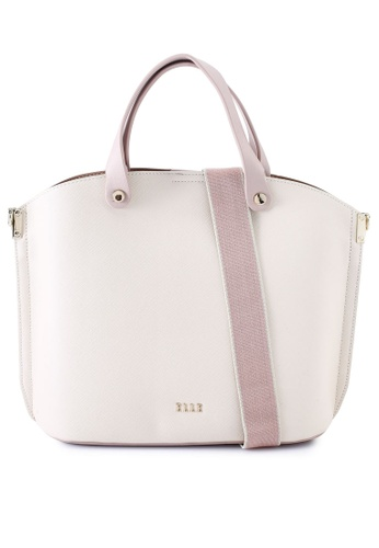 ELLE beige Iris Carry Bag 3A352AC00F2EA5GS_1